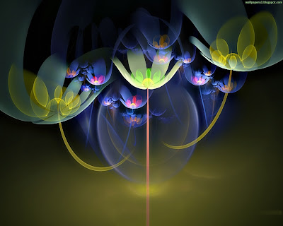 3D Flowers Standard Resolution Wallpaper 7