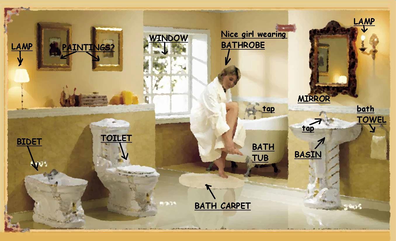 Things In A Bathroom Credainatcon