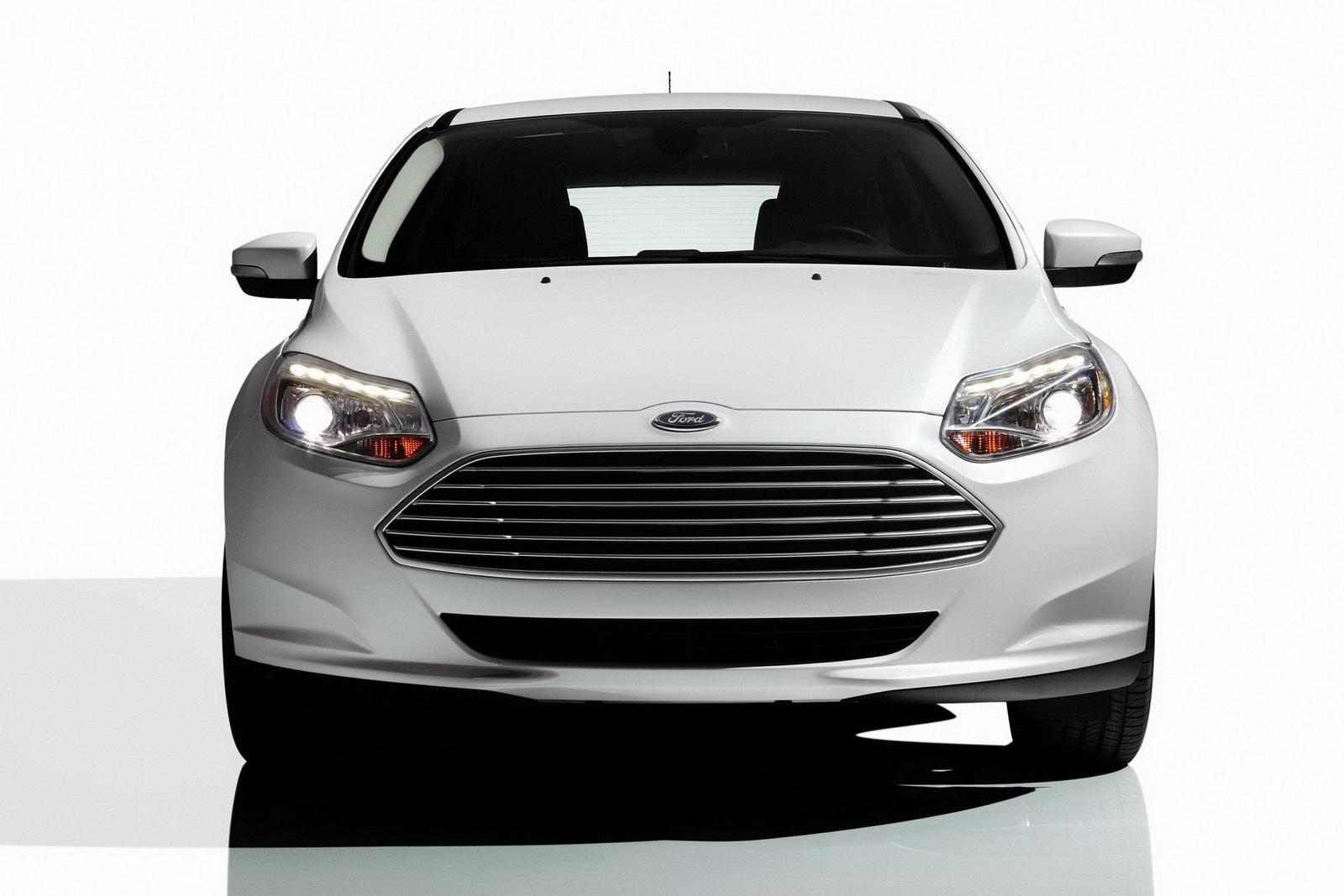 Ford Introduces Focus Electric Car At Ces Las Vegas