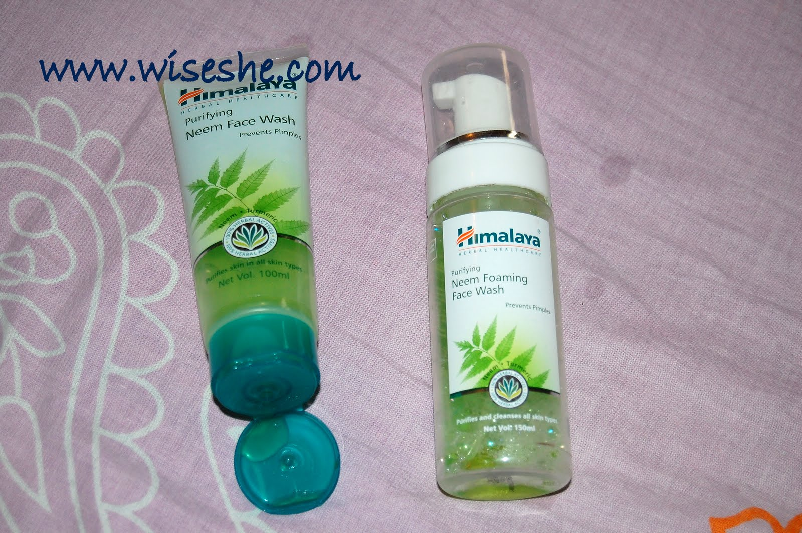 Himalaya Purifying Neem Face Wash And Pirfying Foaming Clean Clear 100ml Review
