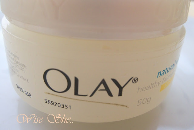 Olay Nautral white cream