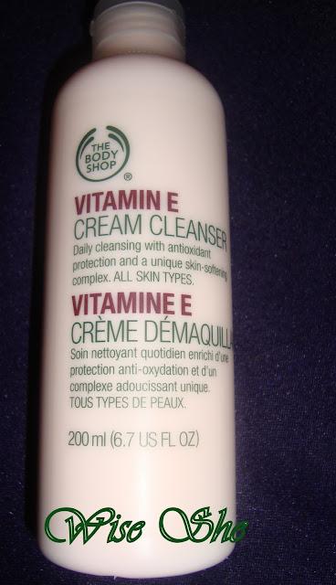 The body shop - Vitamin E Cream Cleanser