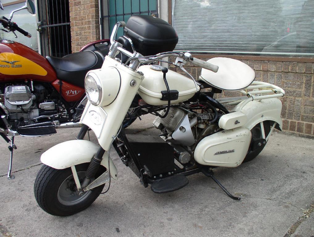 Vintage Cushman Scooters 12