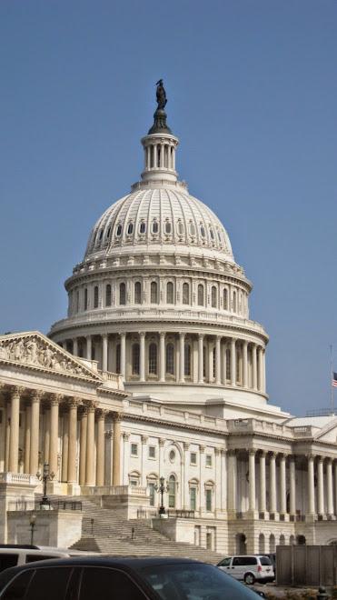 The Capitol Building. El Capitolio de los Estados Unidos en Washington, D.C.