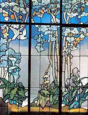 Vitral Art Nouveau