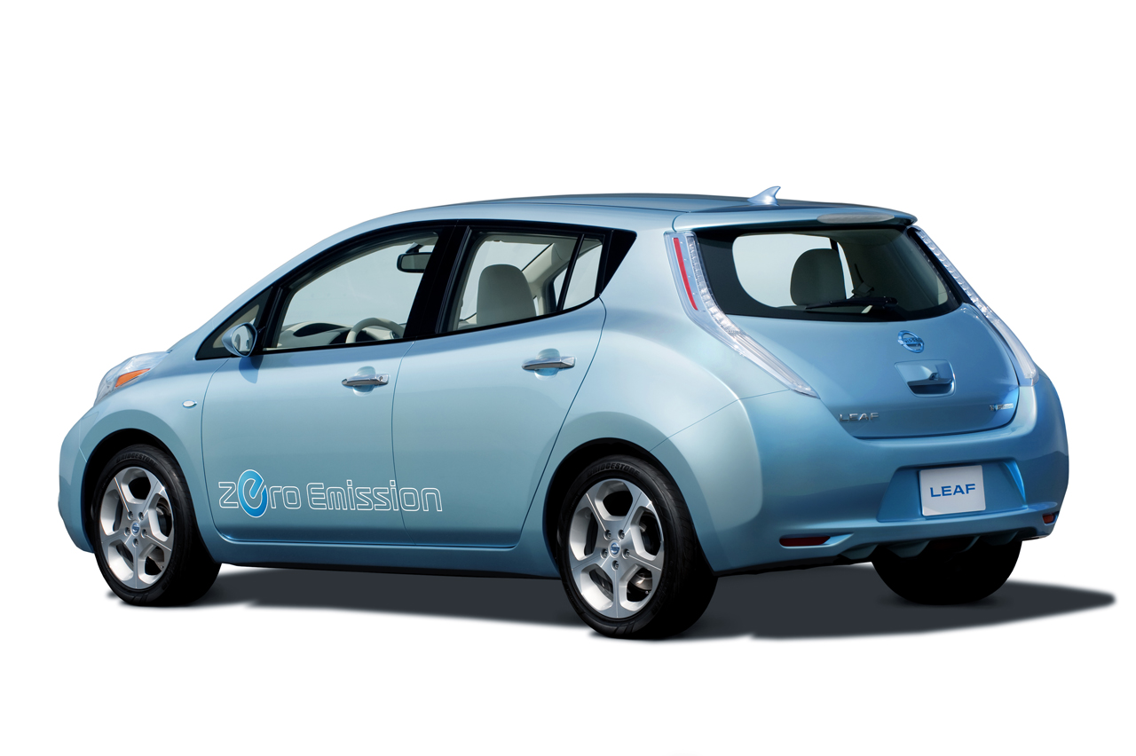 2011 Nissan Leaf Electric Vehicle Pricing Releases