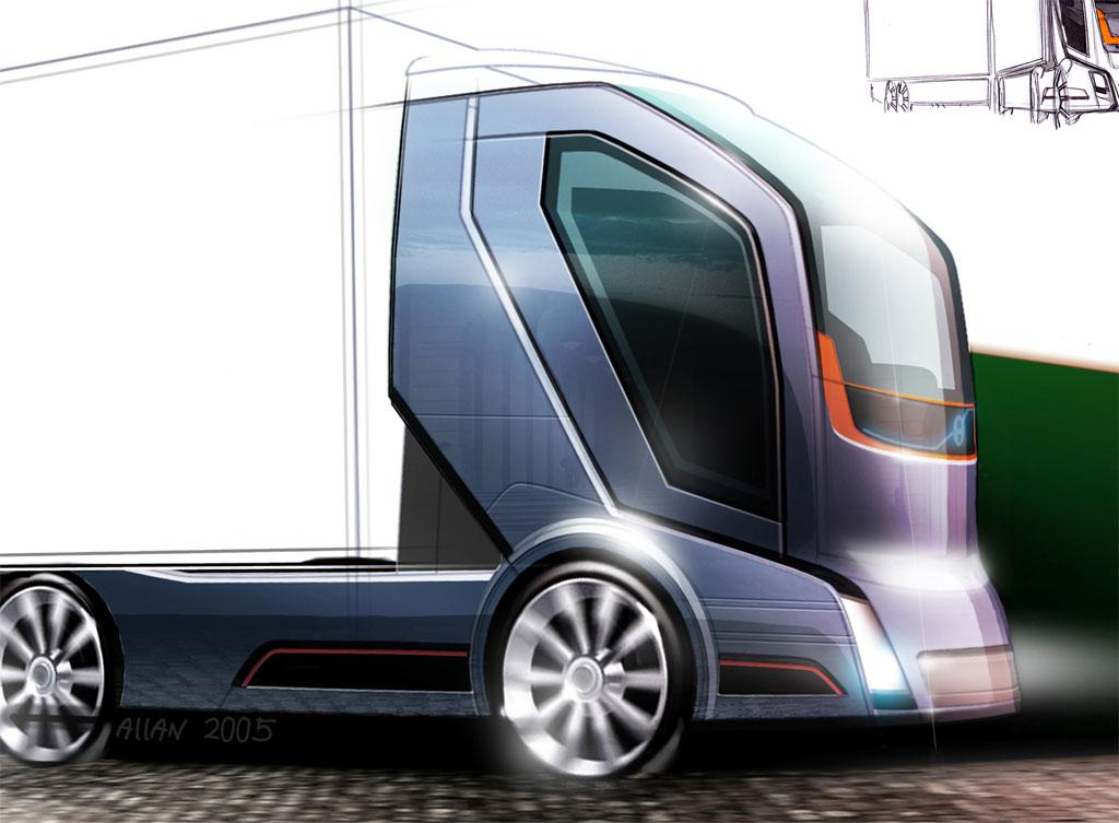 Car: Volvo Concept Truck 2020