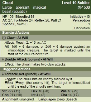 Square Fireballs: Monsters of the Trollhaunt III - Encounter T2