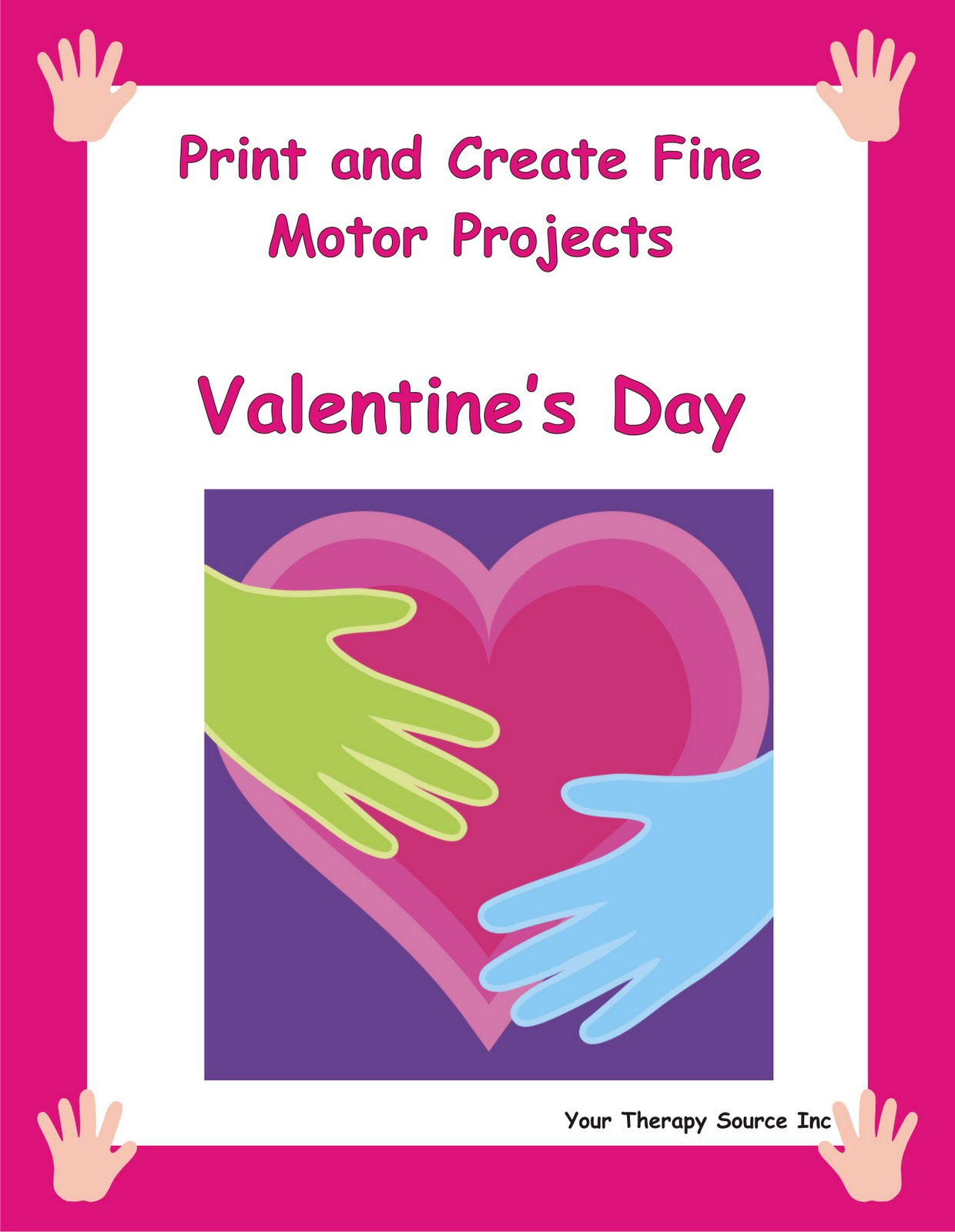 Valentine S Day Chocolate Fine Motor Activity Your Therapy Source