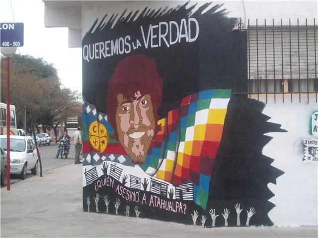 Mural de la escuela de Arte de Patagones