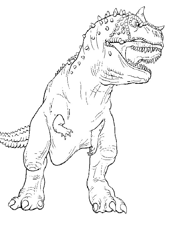 Tyrannosaurus Coloring Page Costumepartyrun