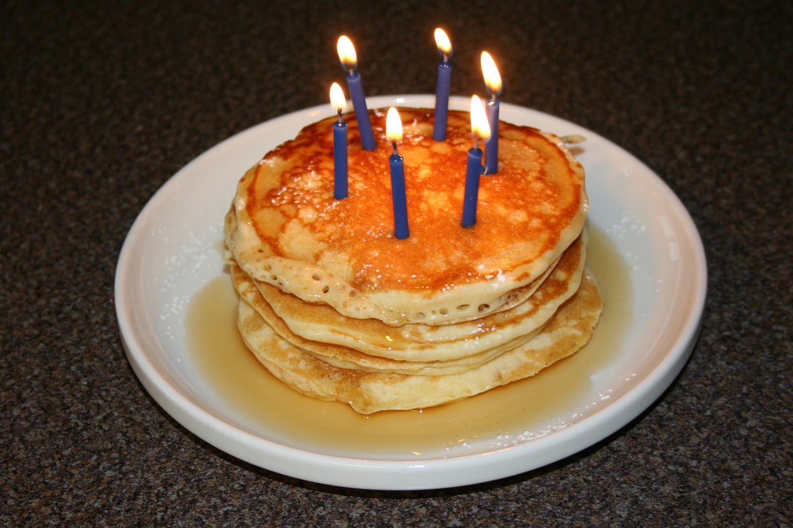 Happy Birthday Marcus Well This Is His Breakfast He A Lover Of Pancakes And I Cannot Resist But To Give Him What Wants On Special