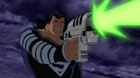 Superman con traje negro