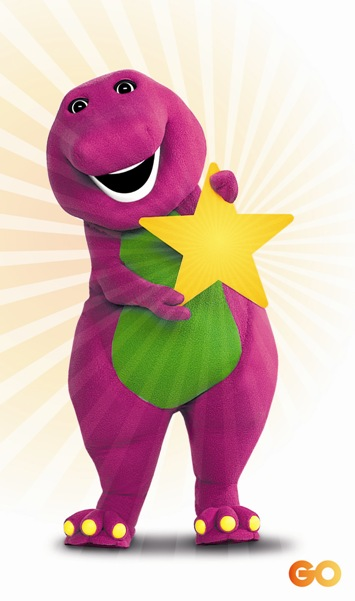 Barney the Dinosaur Printables | Wee Share
