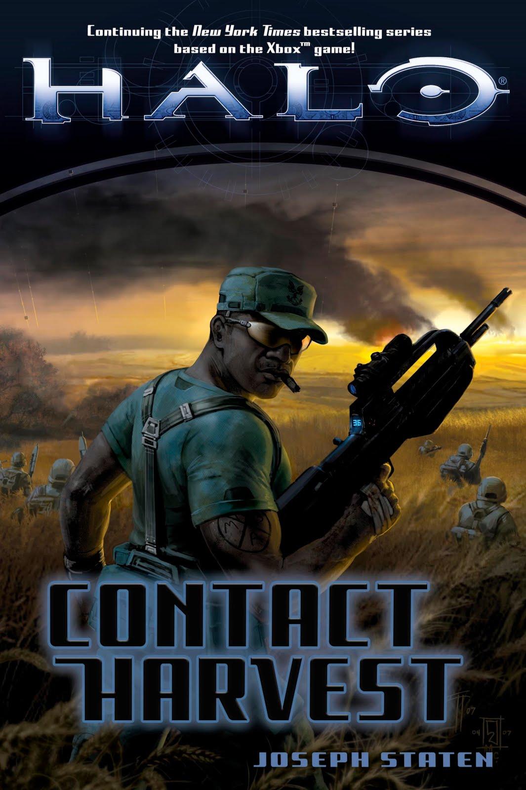 Diagram Halo Contact Harvest