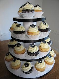 Labels Cupcake Tower Wedding Cupcakes