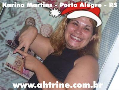 Karina Leitores Vips   Edição Natalina