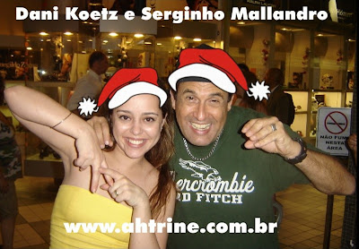 Dani+e+Serginho2 Leitores Vips   Edição Natalina
