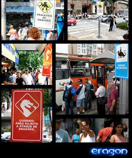 foto 02 Dragões invadem São Paulo