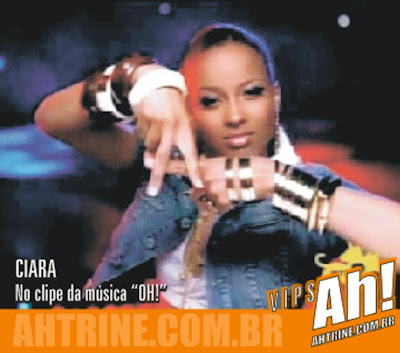 Ciara1 Celebridade internacional andou vendo o Ah! Tri Né!?