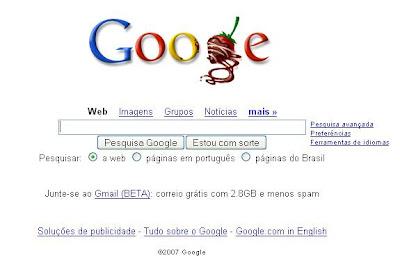 Google com morangos