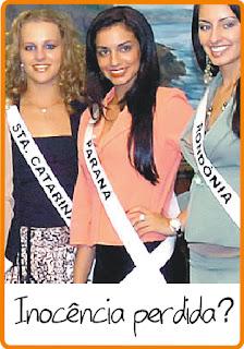 Inocencia A bolsa da Miss Paraná: Inocência?