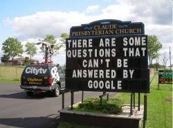 google church Nem o Google responde