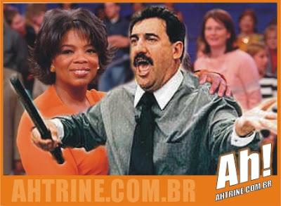ratinho+winfrey Ratinho quer ser Oprah Winfrey