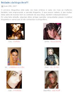 Esterjpg Blogueiras gatas segundo a Ester!!!