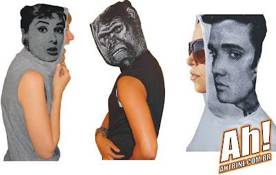 capuz Elvis, Audrey e cia   Vista a carapuça!