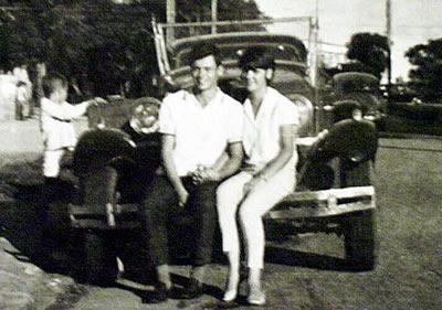 O Casal M&P no MG Pavão 28, em 1967...
