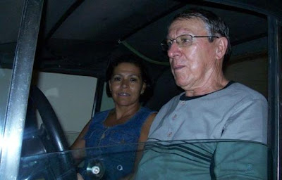 O casal Fonseca no MP