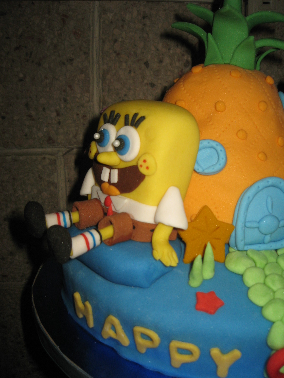 Krazzy Cakes Spongebob Cake