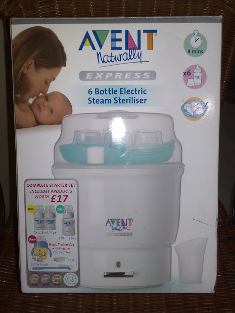 Http Avent Electronic Steam Sterilizer