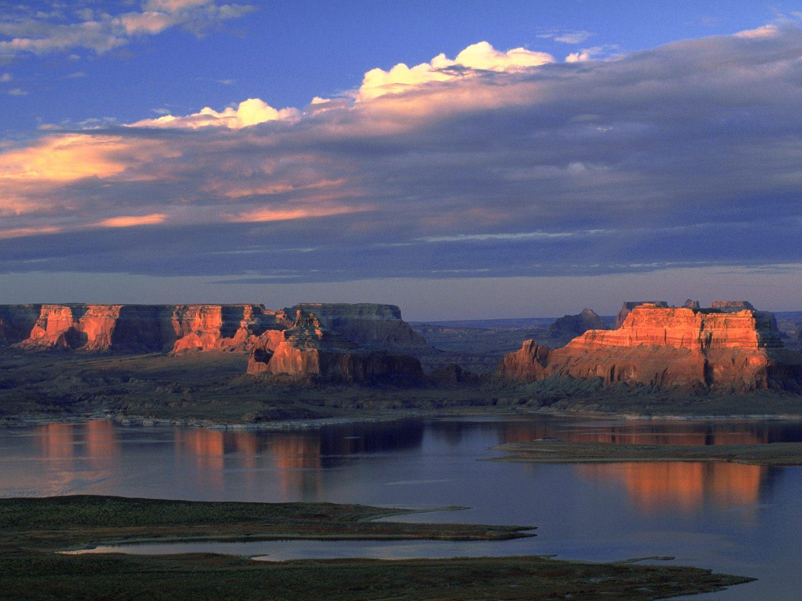 Amazing Falls Wallpaper Margy S Musings Lake Powell Utah