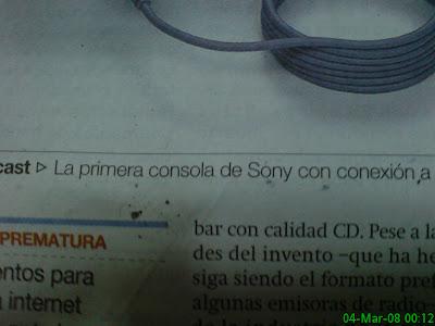 La Prensa Generalista descubre el Pastel: ¡Dreamcast era de Sony!