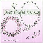 Link to Pink Floral Scraps