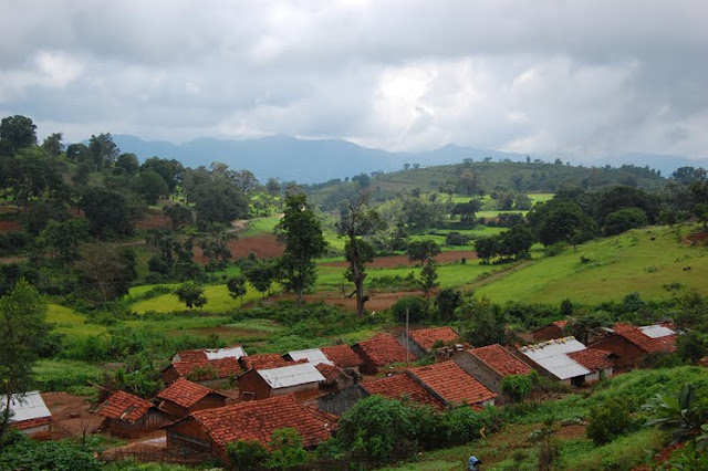 Small Village in Araku Valley