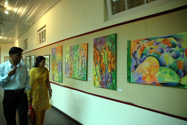 Painting Exhibition at State Musium, Shimla