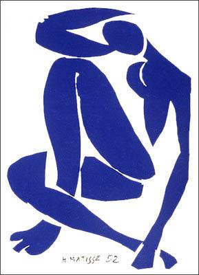 Nue bleu IV