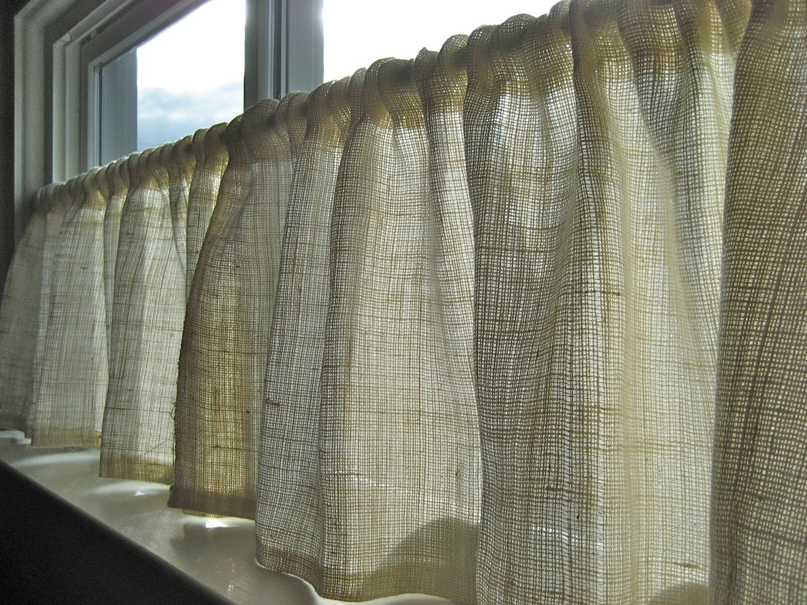 Enchanted Romantic Cafe Curtains
