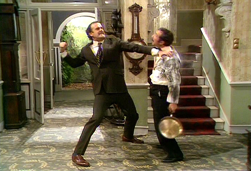 HR Directors, Basil Fawlty and Global Communication