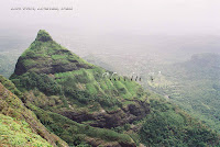 Shiv-Ling or Hersheys Peak at Lonavala in India