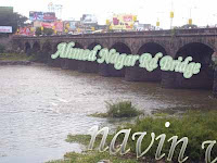 Ahmed Nagar Rd bridge at Pune in India