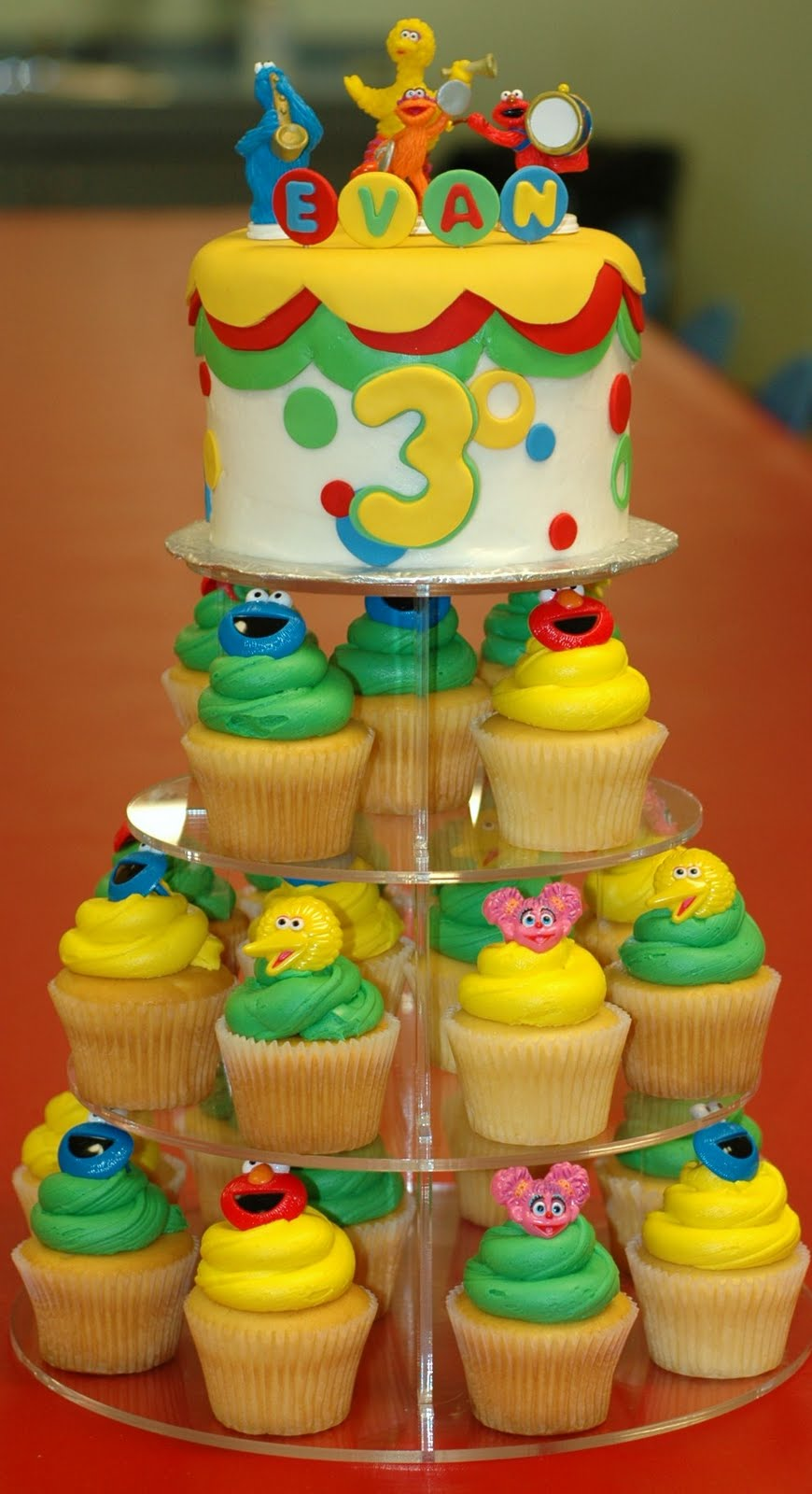This Was For A 3 Year Old Little Bots Birthday Sesame Street The Theme Of Course I Delivered To Childrens Museum In Greensboro