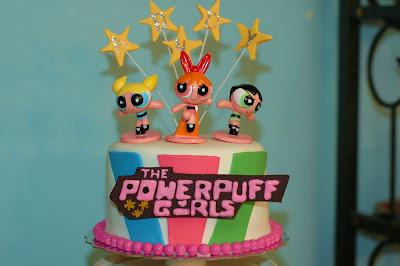 Tara S Cupcakes The Powerpuff Girls Cupcake Cake Tower