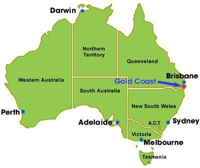 Australia Map Gold Coast.Life S An Adventure Gold Coast Australia