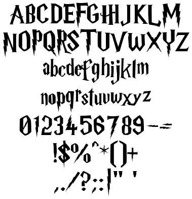 A font any fan will recognize Obsessions Pinterest Fonts - college acceptance letters