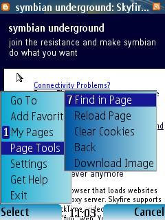 Bolt mobile phone web browser Symbian Java