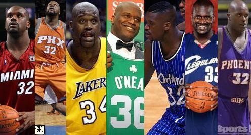 check out 8554a 9fe99 Shaq Retires